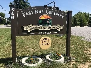 East Hill Creamery Sign