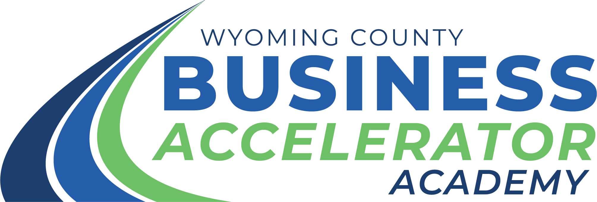 Wyoming County Business Accelerator Academy Logo